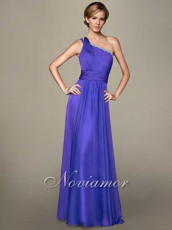 Purple Grecian Dress   ... One Shoulder Grecian Long Purple Prom ...