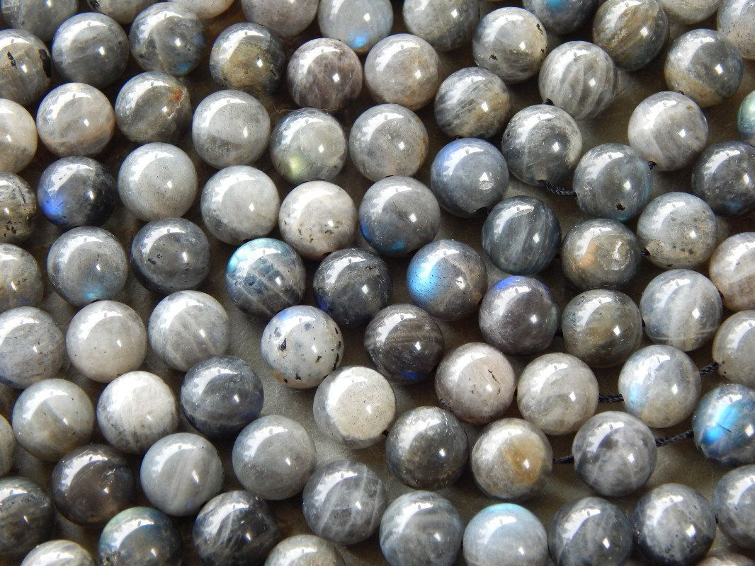 10mm Labradorite Semi Precious Round Polished Beads Half Strand Ind2c625 From Whitewillowcreek On Etsy Studio Labradorite Semi Precious Beads Metallic Luster
