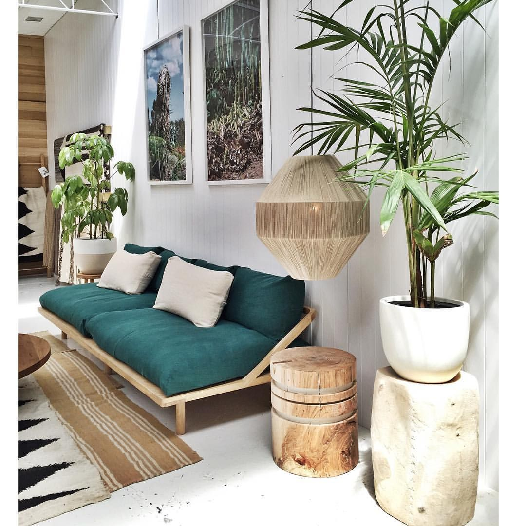 Wohnzimmer Deko Ideen Instagram Rustic Vibe With A Modern Tropical Twist Jungle Linen