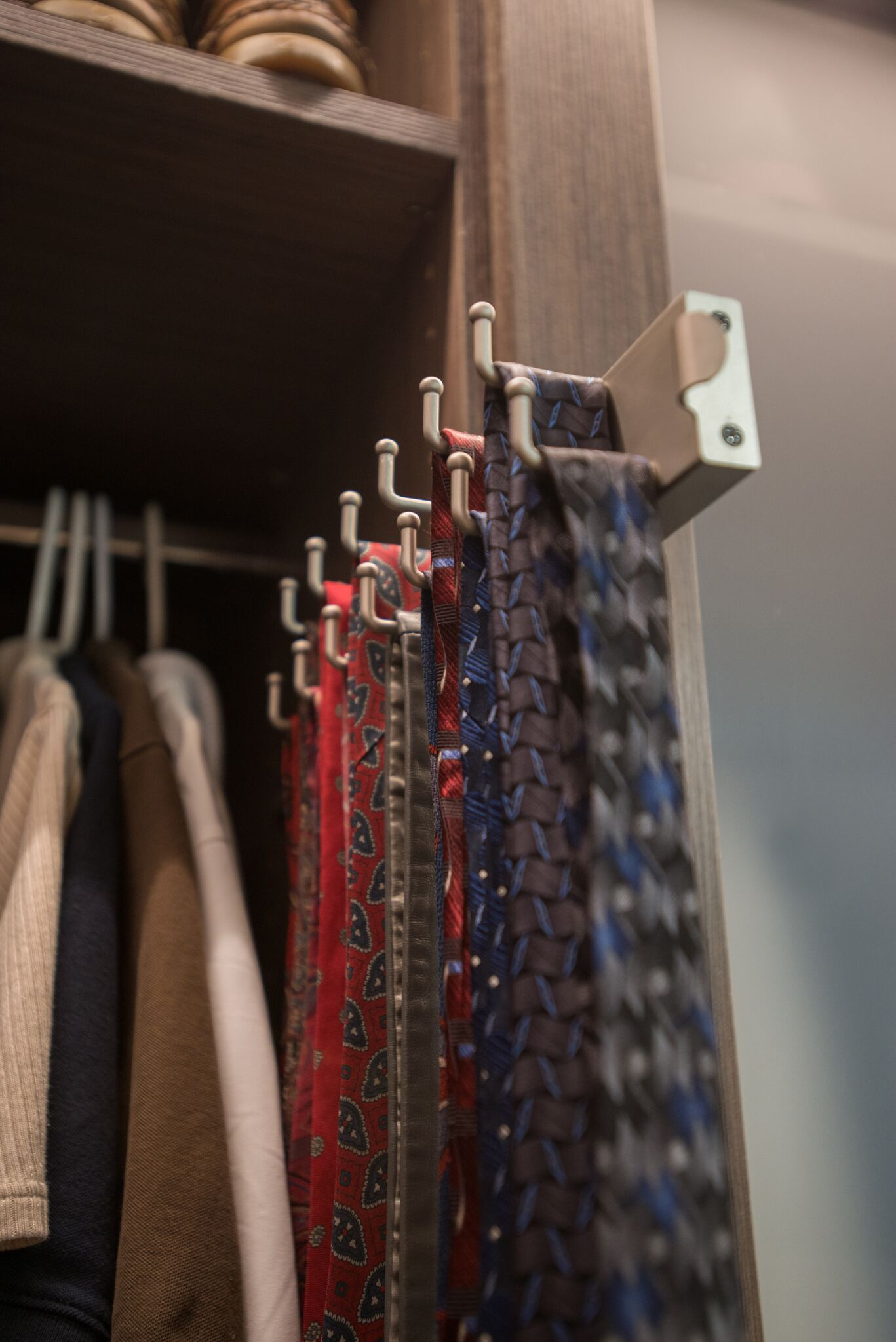 Endless Options To Help You Organize Your Life. Tie Racks Brought To You By  Closet