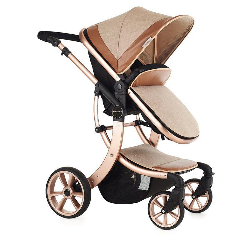 cool aimy baby stroller baby car baby stroller shock four. Black Bedroom Furniture Sets. Home Design Ideas