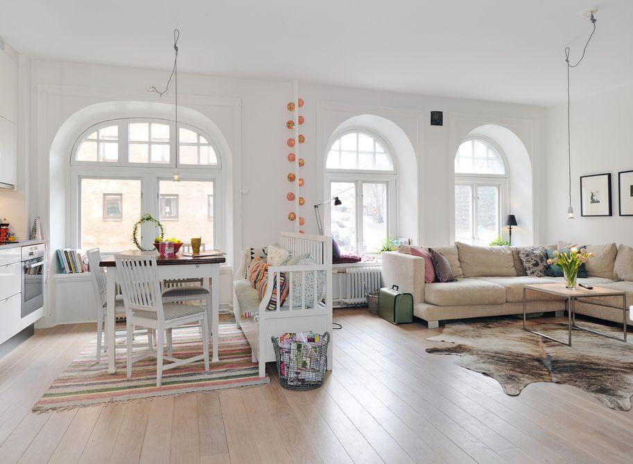 Creatieve afscheiding van keuken/woonkamer | Interior - Scandinavian ...