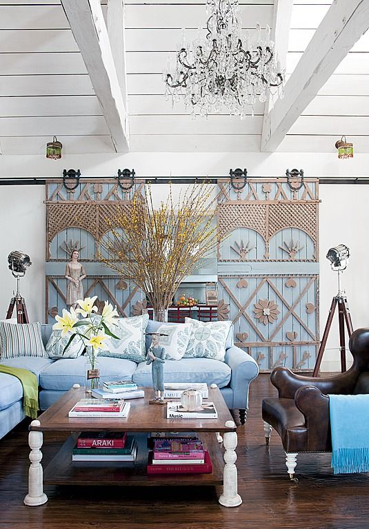 Eclectic Living Room - Found on Zillow Digs