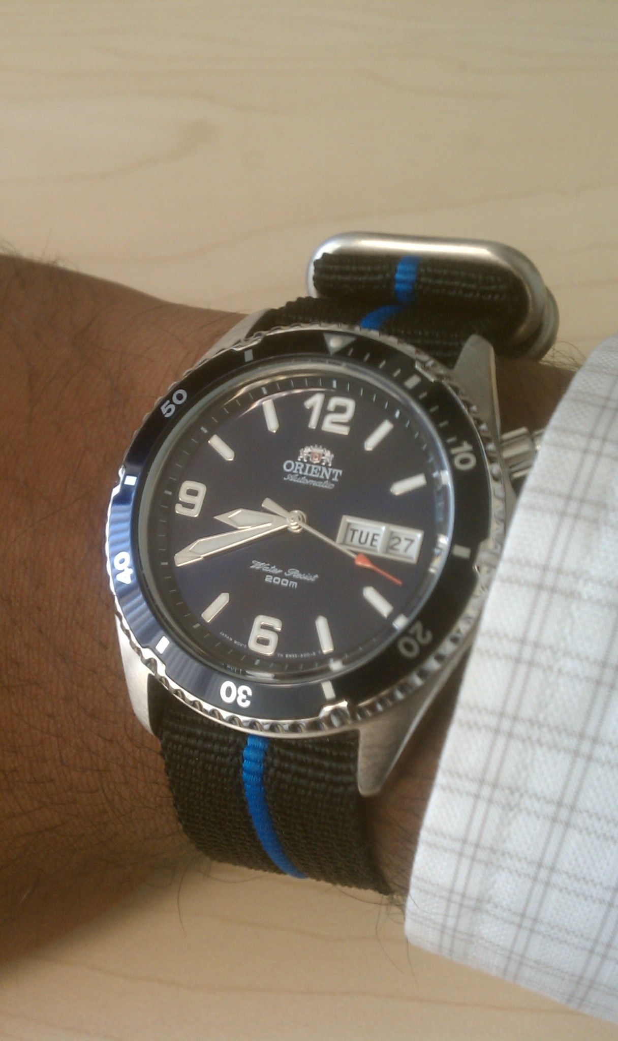 My Real And Reddit Birthday Presents To Myself Blue Orient Mako And