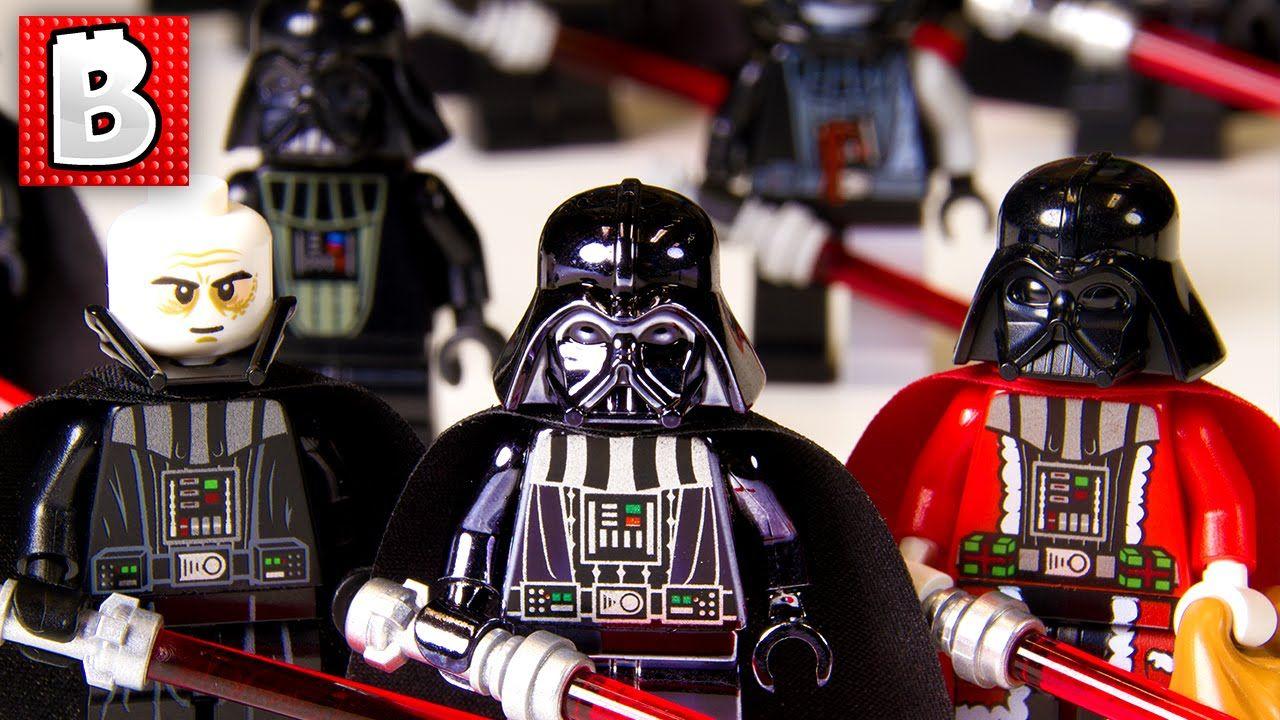 Lego mini type figurine star wars darth vader vader