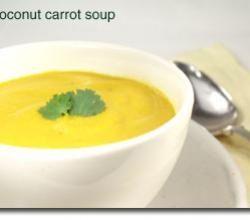 Heartwarming coconut carrot soup | ifood.tv