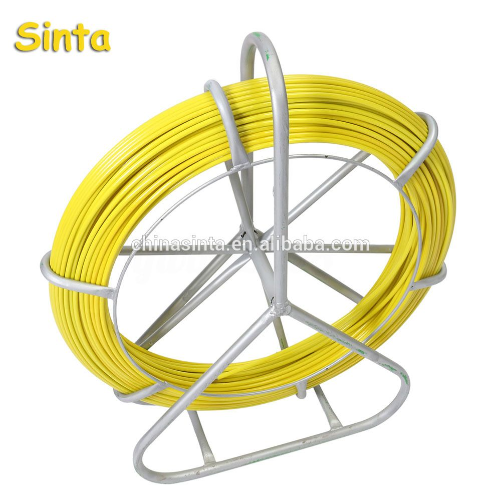 Fish Tape Fiberglass Duct Rodder Cable Pulling Rod Wire puller push ...
