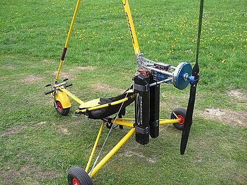 Icaro-2000-electric-Pit-trike | home made vehicles