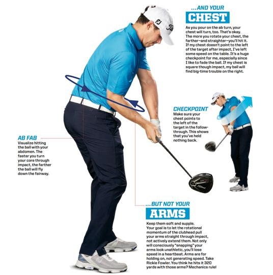 brooks koepka driver golf swing