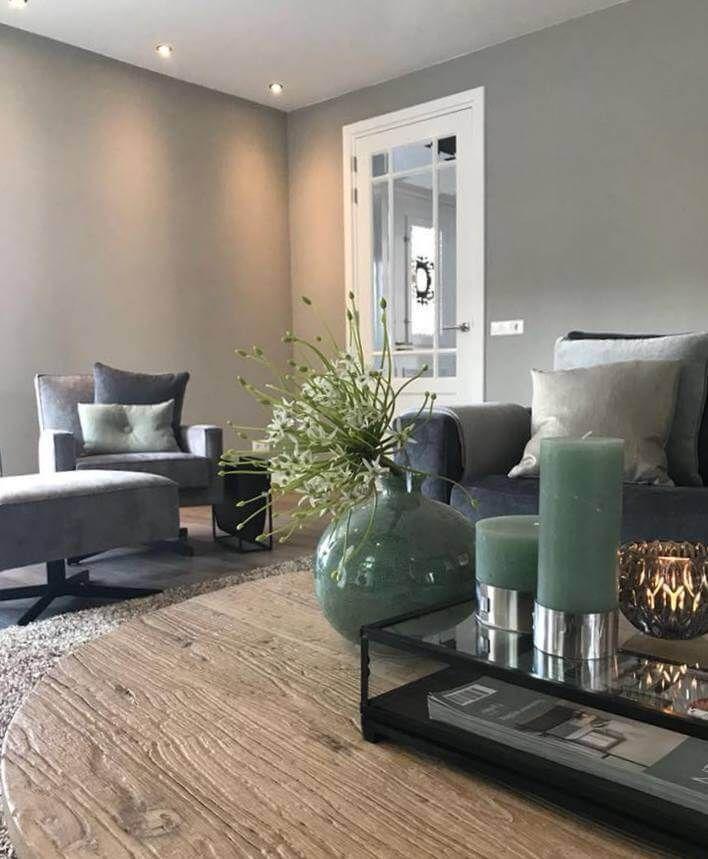 Graue Wände Wohnzimmer: Lesen Sie Jetzt Einen Blog über Kreidefarbe Grau