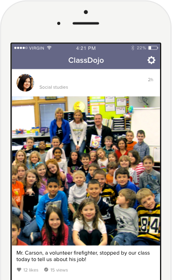 Tool for teacher parent communication Class dojo