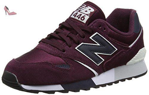 New Balance - M 07 - KL410VBY - Couleur: Bleu marine-Bordeaux - Pointure: 38.5 Chaussures Nike Air Huarache noires Casual homme AuBJRPy
