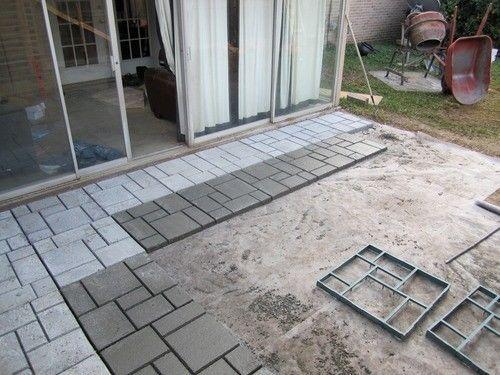 Concrete Mold Walker Paving Maker DIY Stone Patio Yard Garden ...