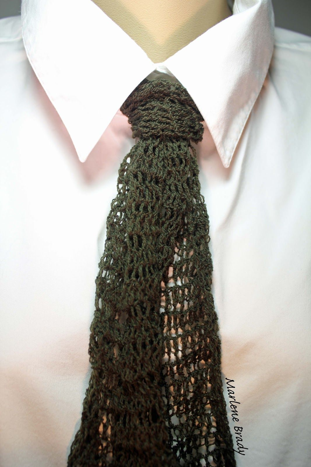Marlene brady crocheted tie foundation less double crochet stitch marlene brady crocheted tie foundation less double crochet bankloansurffo Gallery