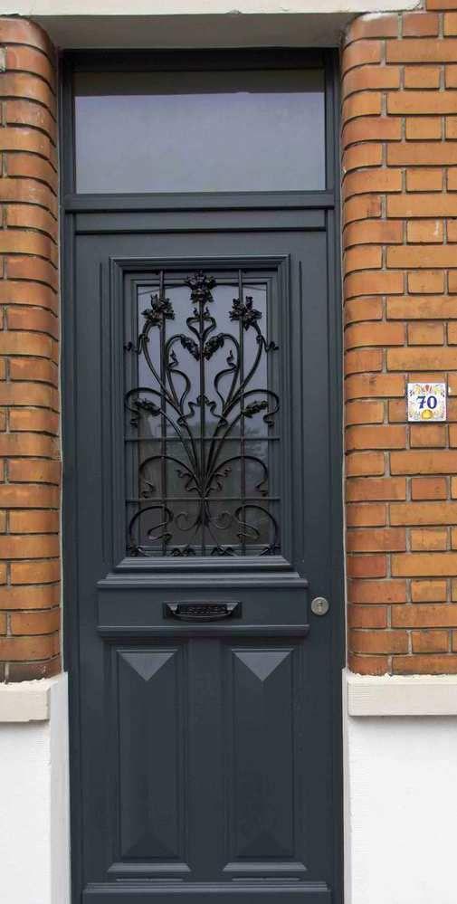Porte Du0027entree Bois Juste Pose D Une Porte D Entree En Bois