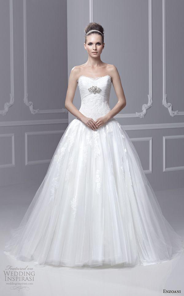 """Enzoani """"Timeless"""" Wedding Dresses 2013 — Sponsor Highlight ..."""