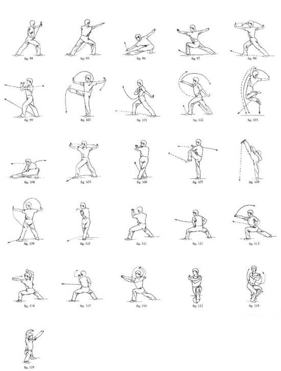 Wushu fighting moves to learn