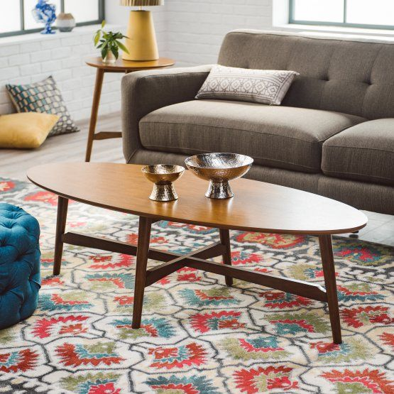 Super Belham Living Darby Mid Century Modern Coffee Table Dark Gamerscity Chair Design For Home Gamerscityorg