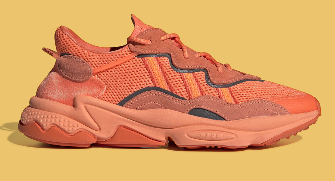 This adidas Ozweego Gets A Bright Orange Overhaul | Sneakers ...