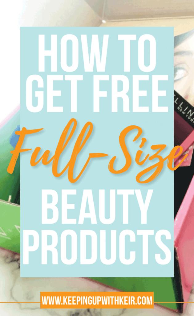 How to get sent free makeup