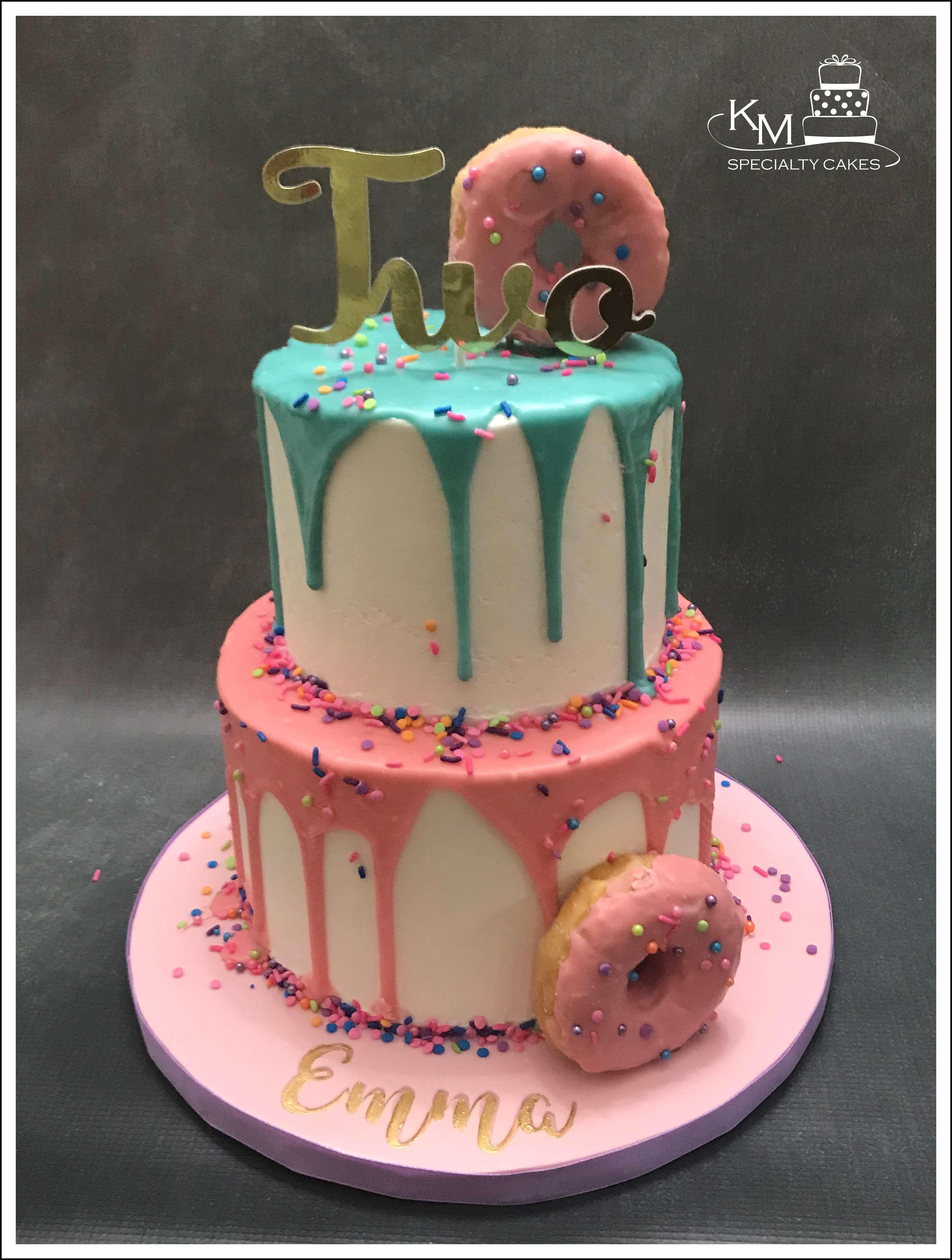Doughnut birthday cake in 2020 cake specialty cakes
