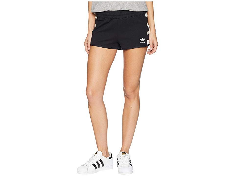 3f18f142c892 adidas Originals Racing AA-43 Shorts (Black) Women s Shorts. Rev up your