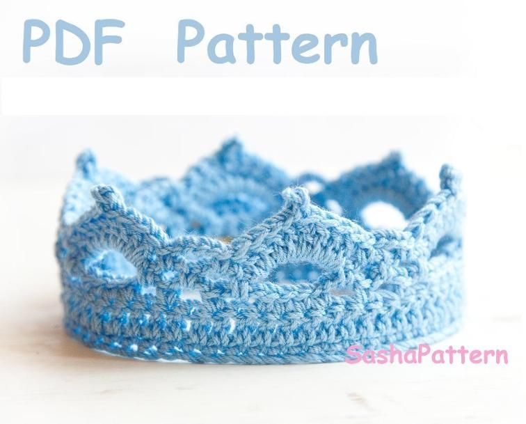 Crochet Baby Crown Pattern Promo Crown Pattern Crochet Baby And