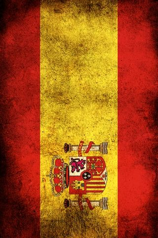 Spain Flag Android Wallpaper HD Grunge Android