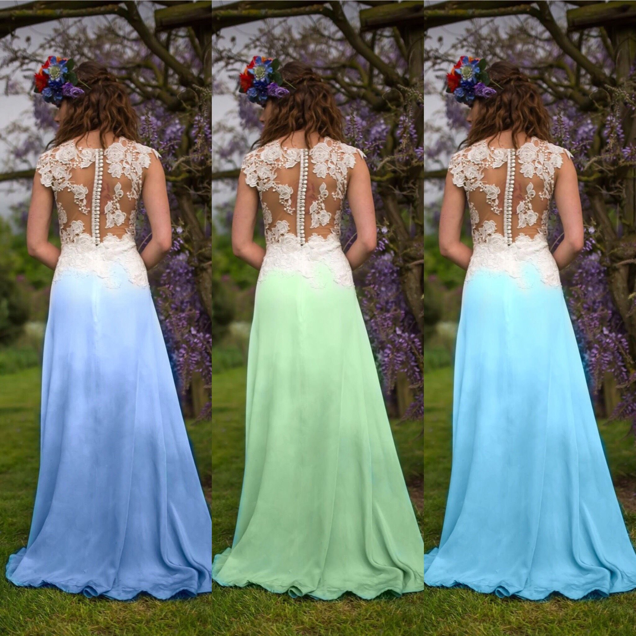 Dip Dyed Wedding Dresses For You Alternative Brides To Be Beautiful Colours To Spice Up Your Wed Colored Wedding Dress Dip Dye Wedding Dress Dye Wedding Dress,Wholesale Cheap Wedding Dresses