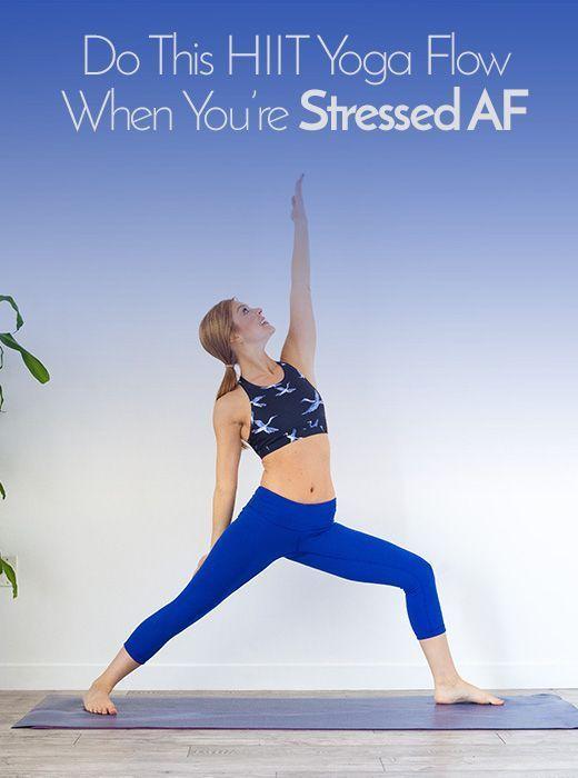 Das HIIT Yoga Workout wird alle Ihre kalorienreichen und stressfreien Bedürfnisse befriedigen   - Fi...