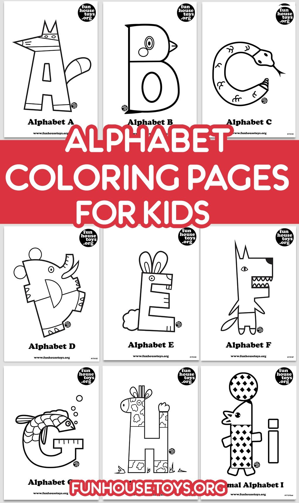 Alphabet Coloring Pages For Kids To Print And Download Alphabet Coloring Pages Alphabet Coloring Coloring Pages For Kids