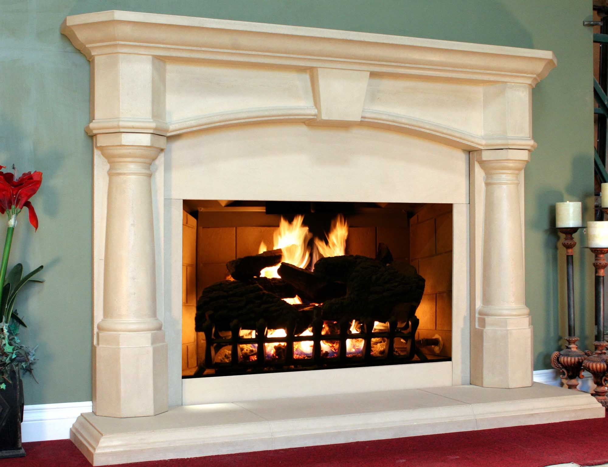 Ahhh I Love Fireplaces Home Decor Pinterest Fireplace Mantel Mantels And Stone