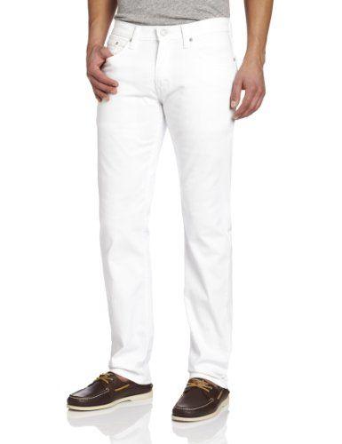 Levi's Men's Denim Jeans Slim 514 Straight Jeans white Bull Hot Sale