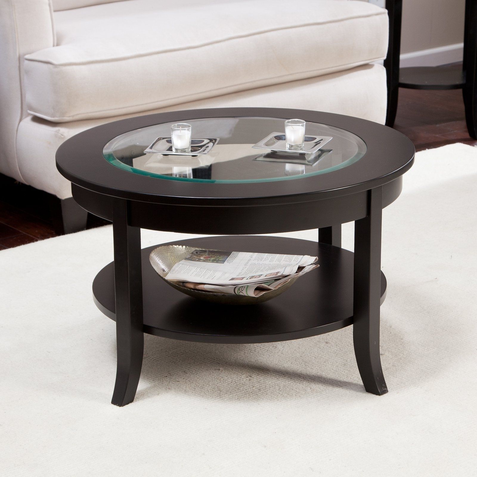30 Round Glass Top Coffee Table With Images Coffee Table