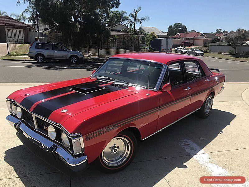 Car For Sale Ford Falcon Xy Gt Replica 302 V8 Auto Track Red