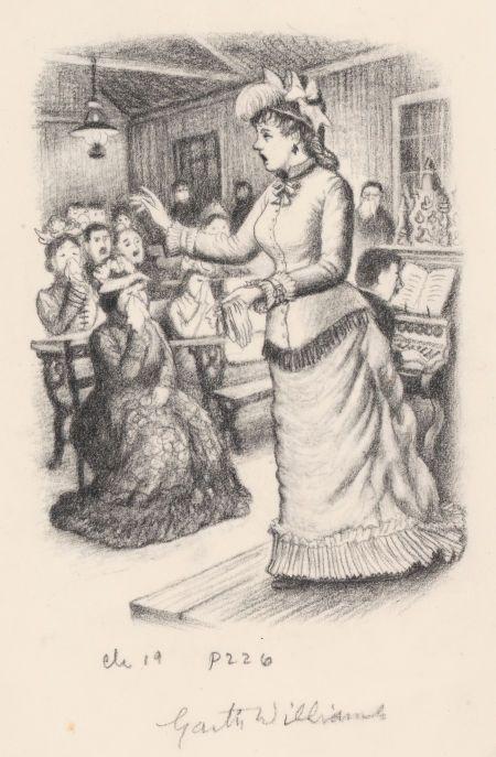 Garth Williams Little House Illustrations | Mainstream Illustration, GARTH WILLIAMS (American, 1912-1996). Little ...