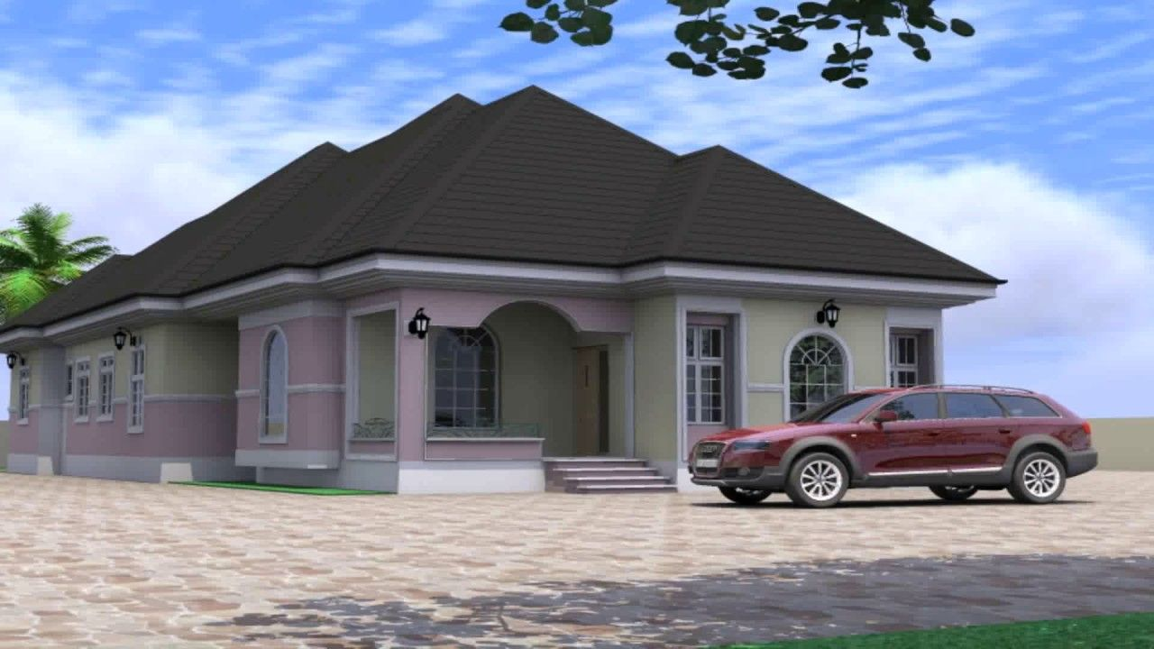 4 Bedroom Flat Design In Nigeria | Bungalow, Deco ...