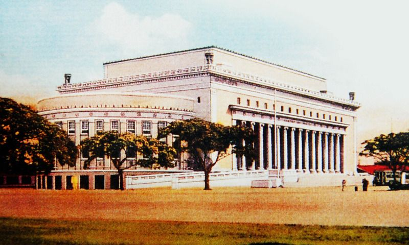 Manila Central Post Office By Juan Arellano Philippine Architecture Building Post Office