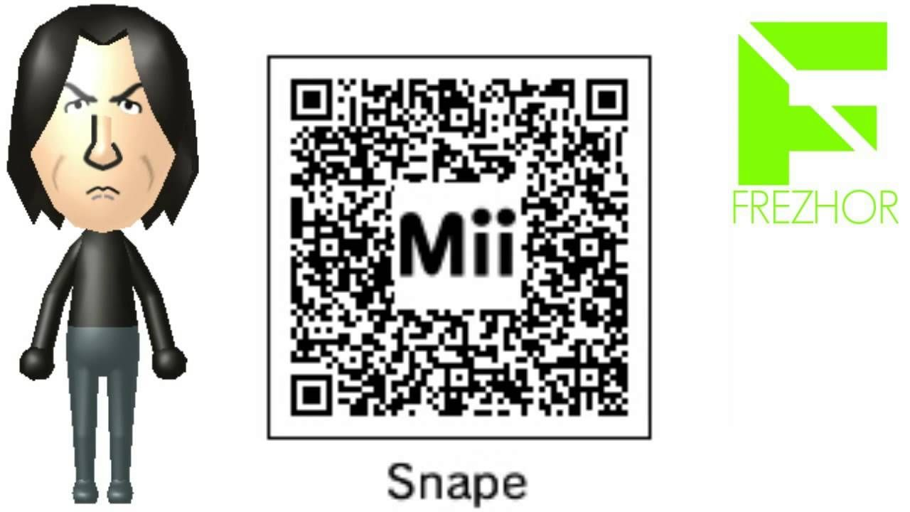 3ds giveaway mii maker severus snape mii from harry potter free 7589