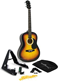 Amazon Com Acoustic Guitars In 2021 Guitar Tuners Martin Smith Acoustic Guitar Kits