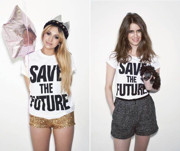 Guilt-Free Fashion: Katharine Hamnett & H&M's Charity T-shirt ...