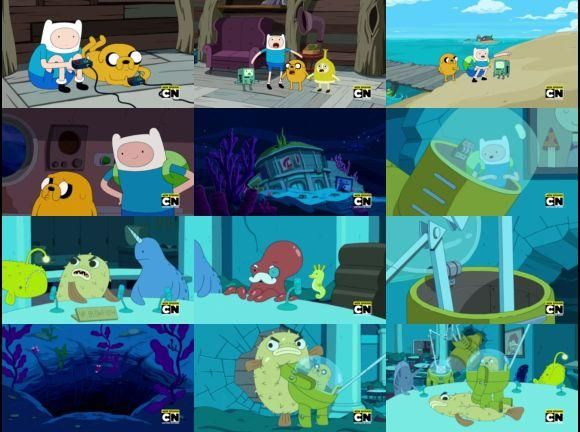 Adventure Time with Finn and Jake Season 7, Episode 18 – President Porpoise is Missing - 1ClickWatch.Net