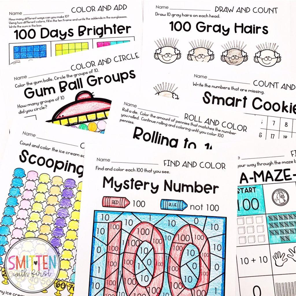 100th Day Activities Weekly Recap