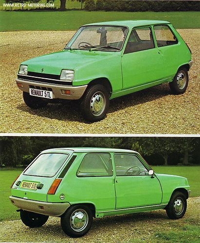 A Very Green Renault 5 Tl This Was Nearly My First Car In 1997