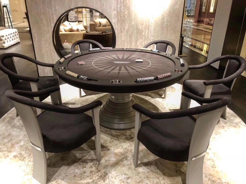 POKER TABLES 1000 in 2020 Small game rooms, Poker