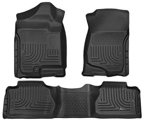 Husky Liners Front2nd Seat Floor Liners Fits 0713 Silveradosierra Extended Read More Reviews Of The Product By Visitin With Images Husky Liners Floor Liners Gmc Sierra