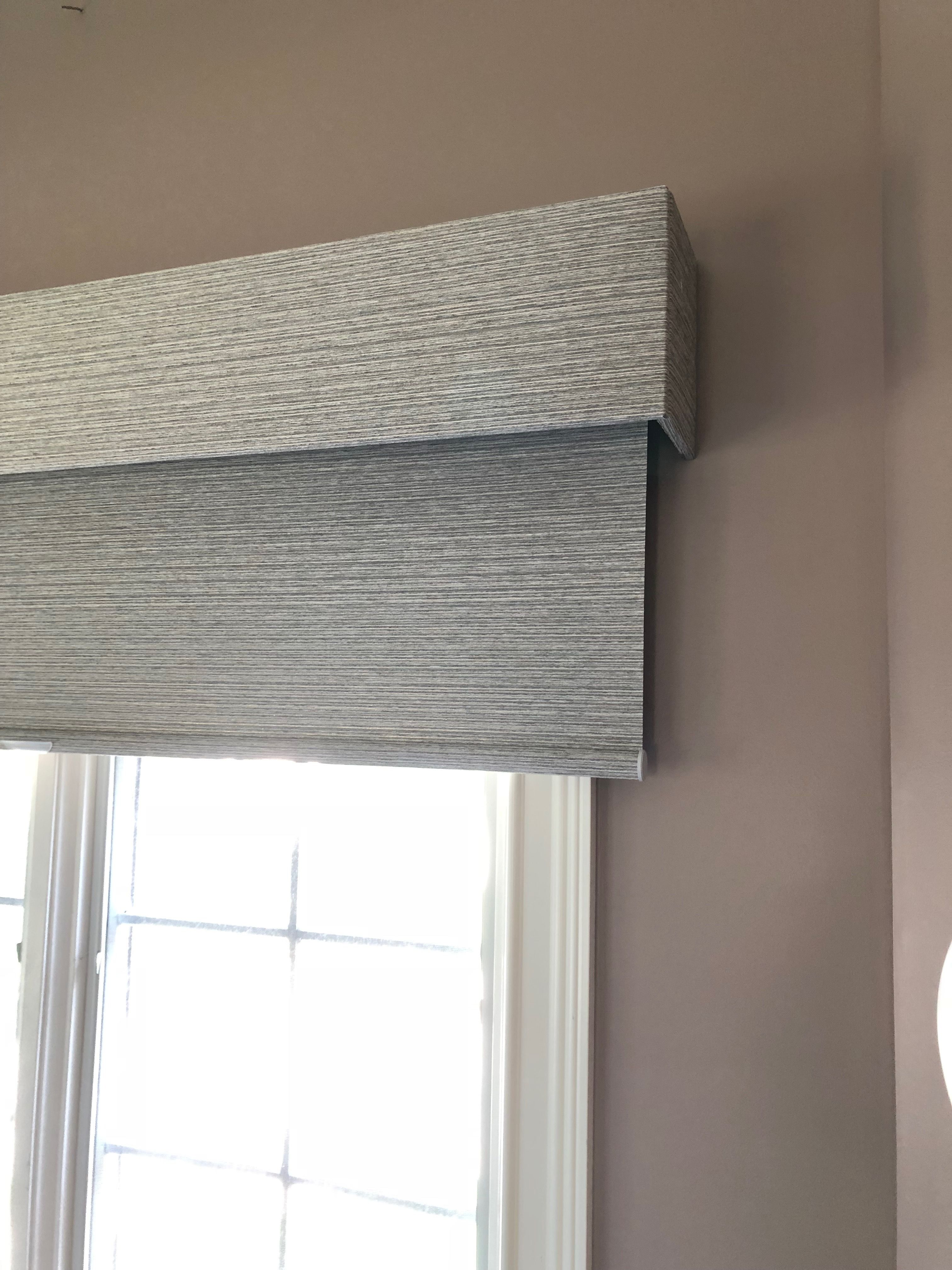 Blackout Roller Shades And Valances For A Boys Room In