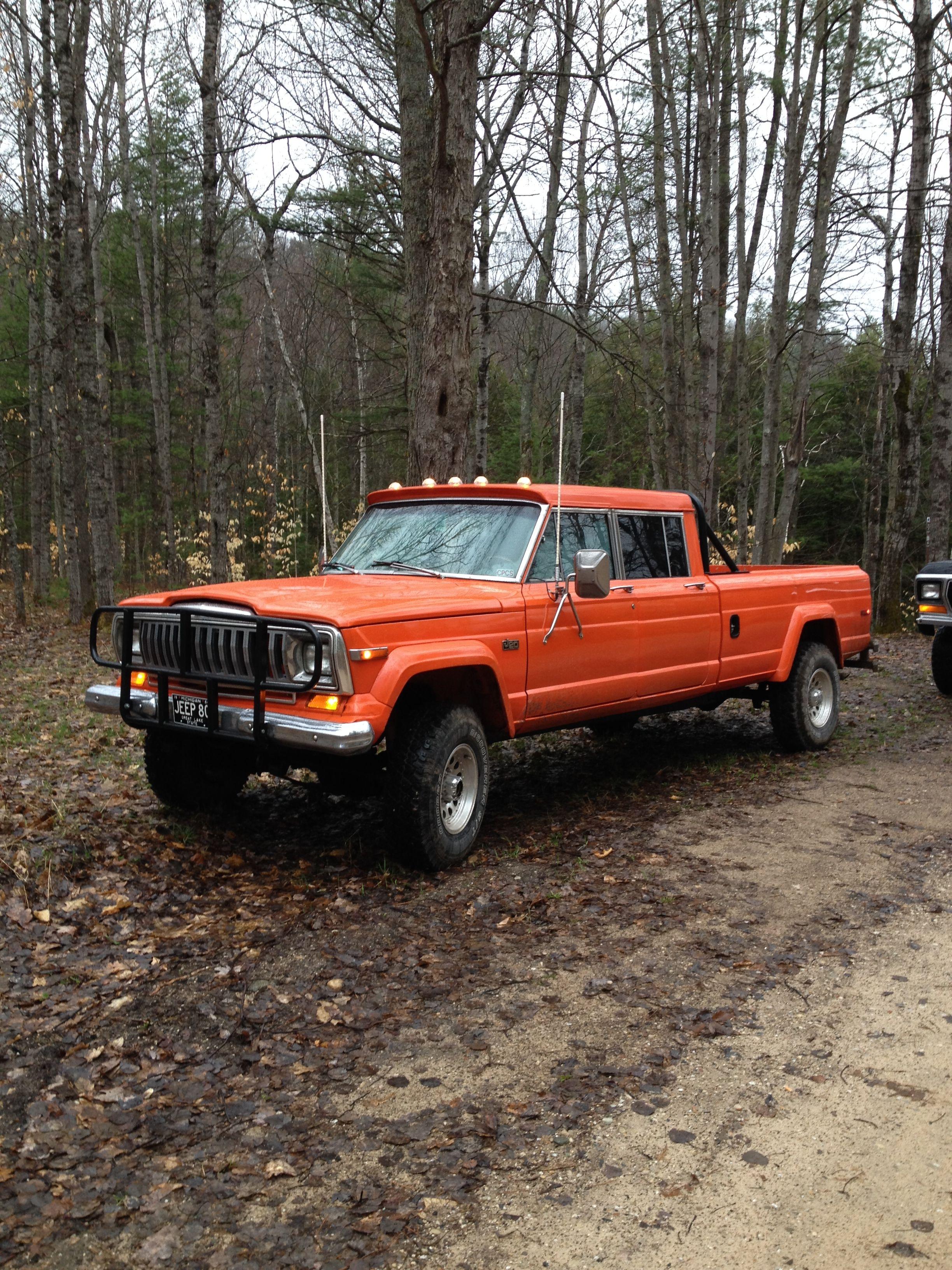 1980 j 20 jeep | jeep j20 crew cab truck | Jeep wagoneer