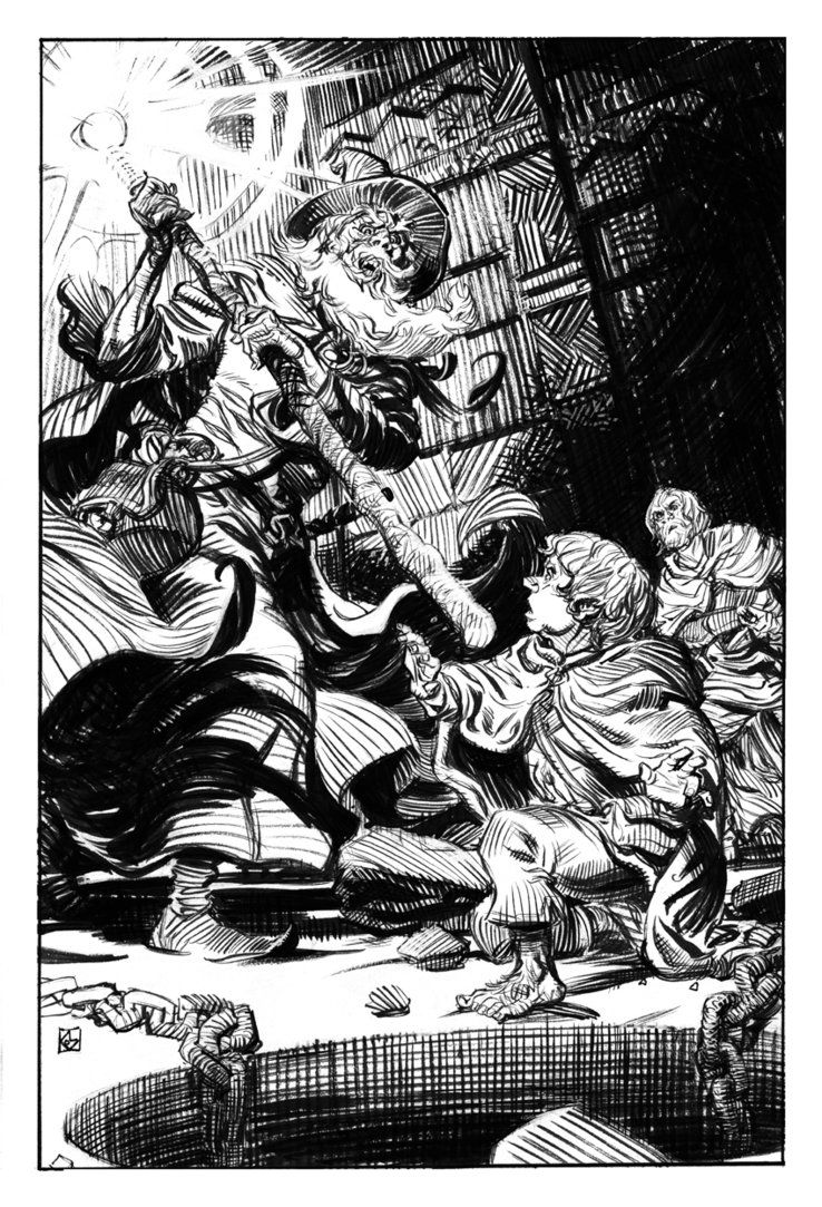 Gandalf & Pippin - The Lord of the Rings - Dean Kotz   Lord of the ...