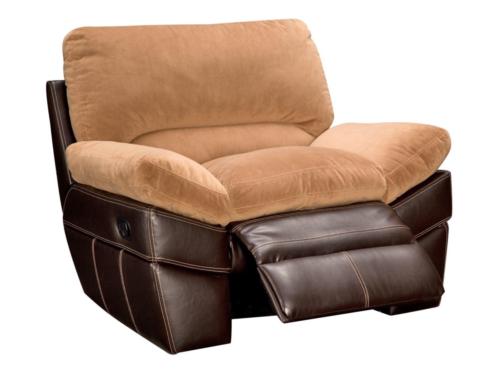 Chandler Beige Glider Recliner   Value City Furniture $299.99